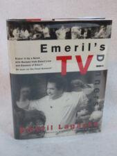 Emeril Lagasse EMERIL'S TV DINNERS  William Morrow & Company NY  1998  Signed!