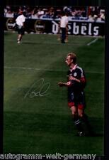 Mario Basler SUPER AK foto il Bayern Monaco 1997-98 (11) ORIG. firmato