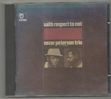 oscar peterson trio - with respect to nat ultra rare japan cd