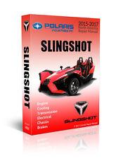 POLARIS SLINGSHOT SL SLR SERVICE REPAIR WORKSHOP MANUAL MAINTENANCE 2017 ON CD