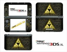 SKIN STICKER - NINTENDO NEW 3DS XL - REF 172 ZELDA