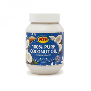 500ml 100% Pure Coconut Oil Cooking Edible Healthy Hair & Skin Moisturiser KTC