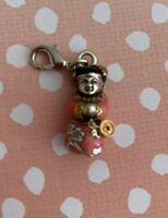Brighton CHINA TALE Chinese Geisha Girl ABC Charm Bracelet/Necklace