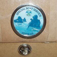 Special Boat Service Veteran lapel pin badge