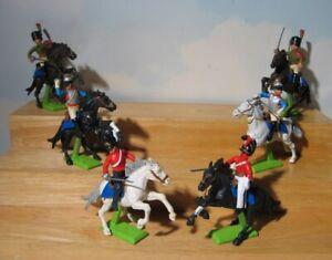 Britains Deetail  Napoleonic Era Cavalry set #7959   1972 Waterloo Hussars (6)