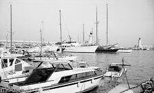 Grand Prix de Mónaco 1967 barcos en el puerto fotografía Fórmula uno 1 Foto GP