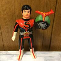 MASKED RIDER TOY FIGURINE STRONGER FIGURE COLLECTIBLE VINTAGE RARE KAMEN JAPAN