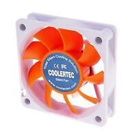 COOLERTEC PC Computer Case Cooling Fan Cooler 3Pin 4Pin 60x60x15mm 6cm Silent
