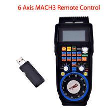 CNC MACH3 6 Axis Electronic Wireless Handwheel Controller Pendant Pulse Machine