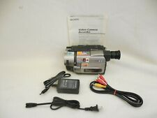 Sony Handycam CCD-TRV85 8mm Hi-8 Analog Camcorder - FOR TRANSFER ONLY