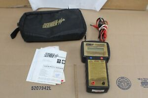Act Gold Plus 6v/12v Intelligent Battery Tester w/ Pouch & Leads Bundle