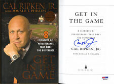 Cal Ripken Jr. SIGNED Get In The Game HC 1st Ed 1st PSA/DNA AUTOGRAPHED Orioles