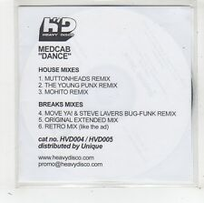 (FW54) Medcab, Dance - 2005 DJ CD