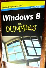 Book Mini Edition, WINDOWS 8 for Dummies Start Apps Charms Social Fixes Music @@