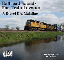 Railroad Sounds For Train Layouts - Diesel Era Mainline - 1970s to the present