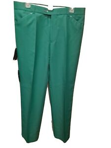 Stromberg Sintra Mens Sz 34 R High Wicking Golf Pants Green NWT