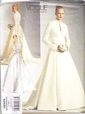 Vogue V2979 12-16 Sewing Pattern Princess Grace Wedding Dress