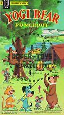 Vintage Reprint - 1959 - Yogi Bear Punch-Out Book - Reproduction