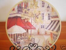 Ceramic Decoration Plate Memories Of Paris 21cm A