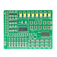 RGB LED Flashing Controller SMD Component Welding Practice Electronic DIY Kit