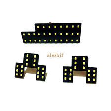 3 Pcs LED Car Interior Decorative Reading Lights for Suzuki SX4, 2835 LEDs 6000K