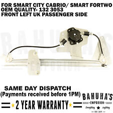 WINDOW REGULATOR-  FOR SMART CITY/ SMART FORTWO CABRIO 1998-2007 FRONT LEFT SIDE