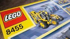 LEGO TECHNIC Rétrocaveuse (8455)