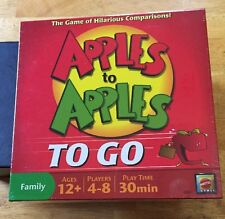 Apples To Apples To Go Family Board Game Mattel Travel Ages 12+ 4-8 Players New