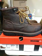 "Men's Wolverine 6"" I-90 Durashocks Composite Toe Boots 9 M Free Shipping #225"