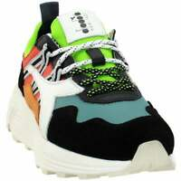 Diadora Rave Leather Pop Mens  Sneakers Shoes Casual   - Black