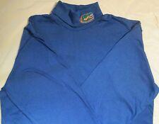 Florida Gators Majestic T-Shirt Large Long Sleeve Turtle Neck Embroidery  NCAA