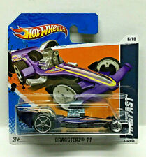 Hot Wheels 2011 Dragsterz (Drag Racers) Series (Purple) Int. Short Card #126
