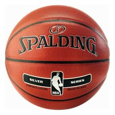 Spalding BASKETBALL NBA argent en / dehors sz. 7 orange 3001595020017