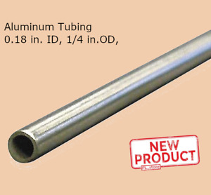 Unpolished Extruded Finish RMP 6061-T6 Aluminum Round Tube Mill 12 Inch Length 2 Inch OD x 1//4 Inch Wall