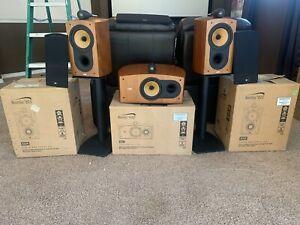 BW B&W Nautilus 805 & HTM2 speakers