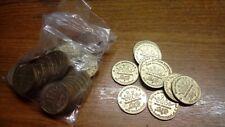 Borsa di 50 PEPSI COLA 28 mm GETTONI PER DISTRIBUTORI AUTOMATICI e altre Coin operato