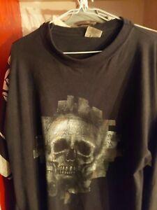 Vintage 90 s 1998 THUNDERDOME id&t T-shirt à manches longues Hardcore
