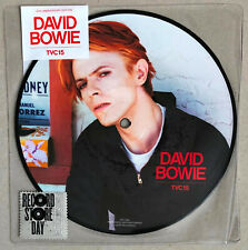 "DAVID BOWIE * TVC15 * RSD 40TH ANNIVERSARY LIMITED EDITION 7"" PICTURE DISC * BN!"