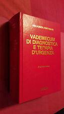 VADEMECUM DI DIAGNOSTICA E TERAPIA D'URGENZA Halhuber Kirchmair Piccin 1988 IV e