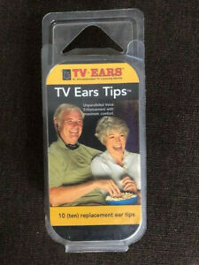 TV Ears Replacement Ear Tips - 5 Pairs