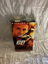 Gone In 60 Seconds VHS Nicolas Cage Screener