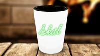 Skål Shotglass - Neon Design - Danish Cheers