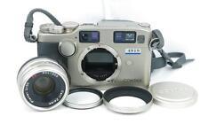 Contax G2 35mm Rangefinder Film Camera W/35MM F/2 lens.HOOD.UV FREE SHIPPING