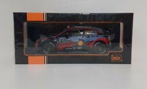 Model Car For Corsa 1:18 IXO Hyundai i20 WRC Tanak Rally Monte Carlo 2020