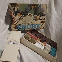 Vintage Parker Brothers Probe Game of Words Board Game 1964 Complete