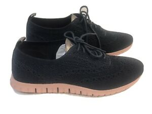 Cole Haan Womens Zerogrand Stitchlite Blue Wool Blue Casual Shoes Size 9 B