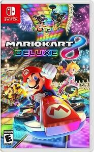 Mario Kart 8 Deluxe - Nintendo Switch Brand New Factory Sealed