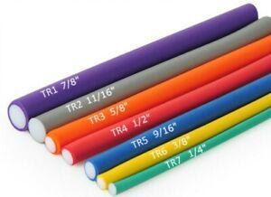 "2 Packs - Twist - Flex Rod / Bendy Rollers - Small 1/4"" - Large 1"""