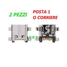 CONNETTORE RICARICA (2pezzi ) MICRO USB PER SAMSUNG GT-S7275 Galaxy Ace 3 LTE