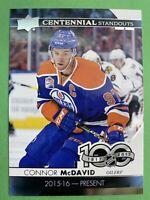 2017-18 Upper Deck NHL 100 Centennial Standouts #C5-97 Connor McDavid Oilers